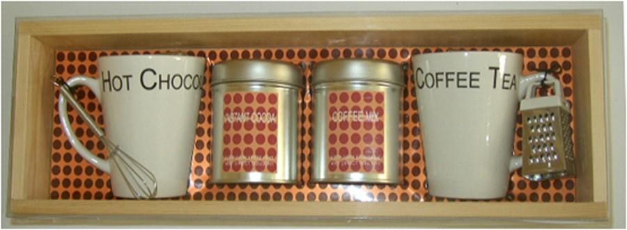6-teiliges Kaffee-Set