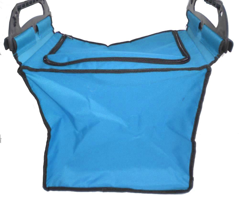 Einkaufswagentasche blau