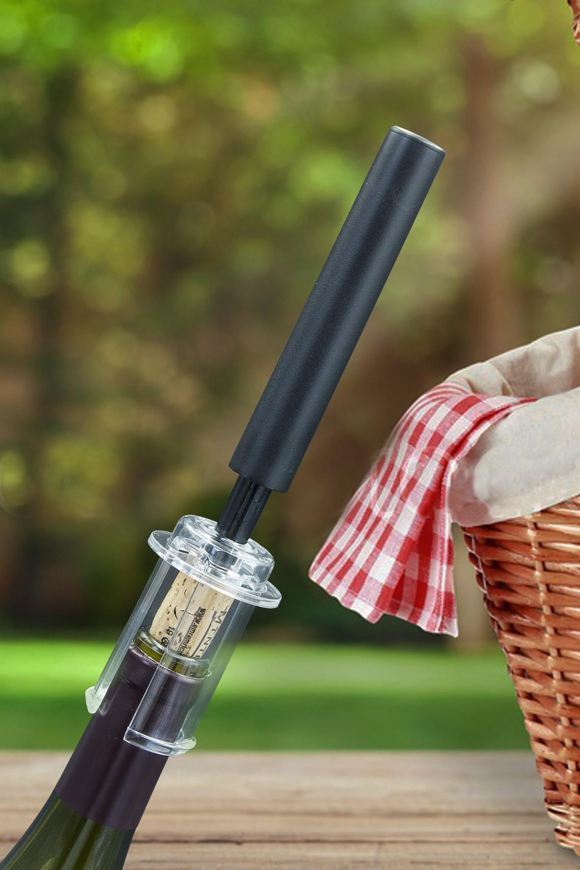 Luftdruck Korkenzieher