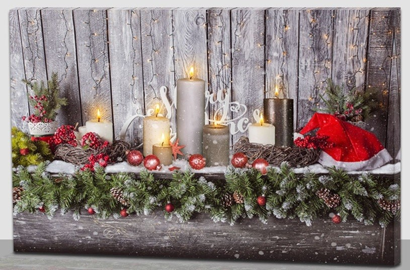 Led Weihnachten.Led Bild Weihnachten
