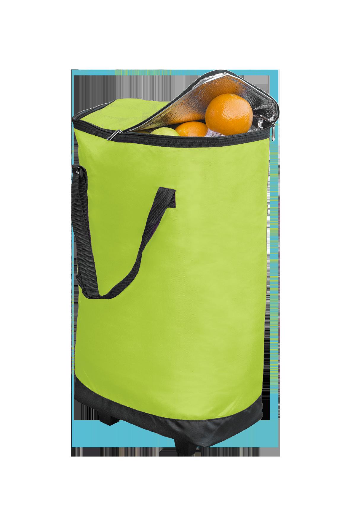 XXL-Kühltasche mit Rollen, lime