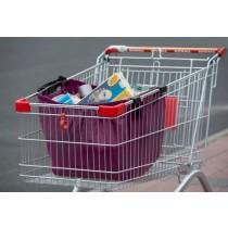 Einkaufswagentasche, lila