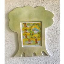 Bild Kater Jakob auf einem Baum