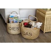 """Aufbewahrungskorb """"Dies und Das"""""""