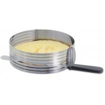 Kuchen-Schneidehilfe