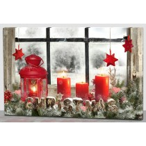 LED-Bild, Christmas
