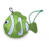 "faltbare Mehrwegtasche ""grüner Fisch"""