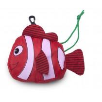 """faltbare Mehrwegtasche """"roter Fisch"""""""