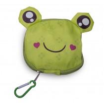"faltbare Mehrwegtasche ""Frosch"""