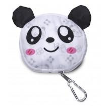"faltbare Mehrwegtasche ""Panda"""