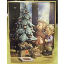 """""""M. I. Hummel"""" Adventskalender mit 24 Echtholzfiguren"""