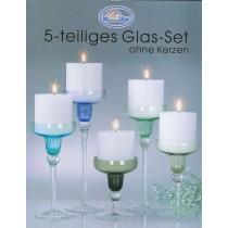 Glas-Set 5-tlg.