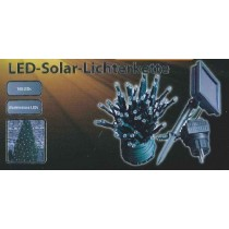 LED-Solar-Lichterkette, warmweiß