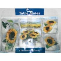 Sonnenblumen-Platzset