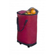 XXL-Kühltasche mit Rollen, berry