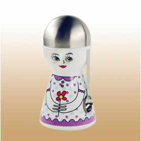 Keramik-Kaffeedose Frau