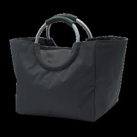 Thermo-Einkaufstasche, schwarz