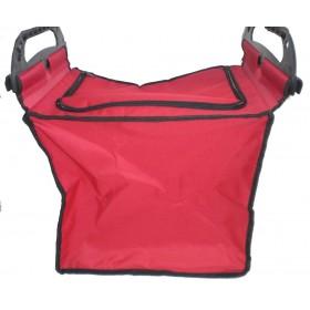 Einkaufswagentasche rot