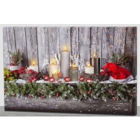 LED-Bild Weihnachten