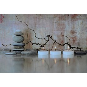 LED- Bild, Steine