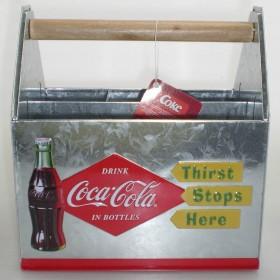 Coca-Cola Besteck-Kiste