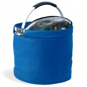 Kühlkorb, rund blau