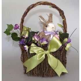Oster-Körbchen mit Hase