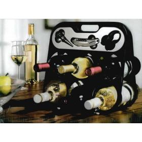 Weinbar für 6 Flaschen
