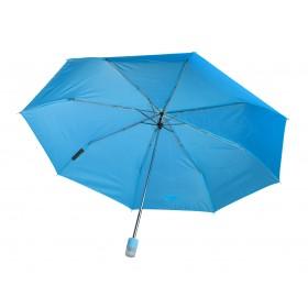 Schirm mit LED, hellblau