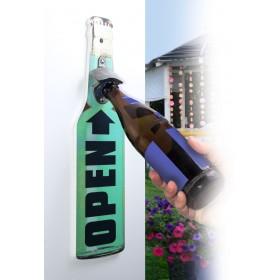 Wandflaschenöffner, grün